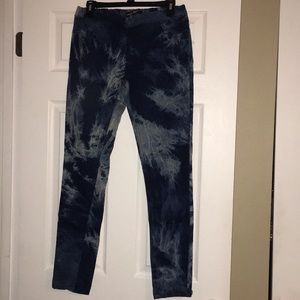 Brand New Tie Dyed Jeans Size Large (Juniors)